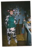 Robin in her cow costume