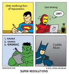Funny resolutions