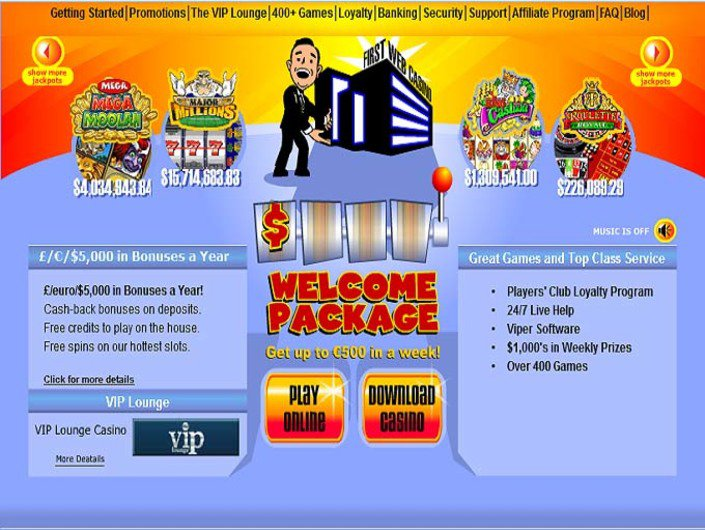First Web Casino objective review on LCB