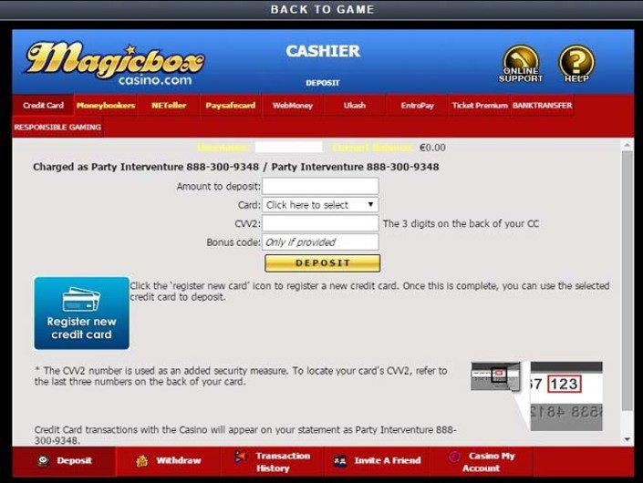 Magicbox Casino