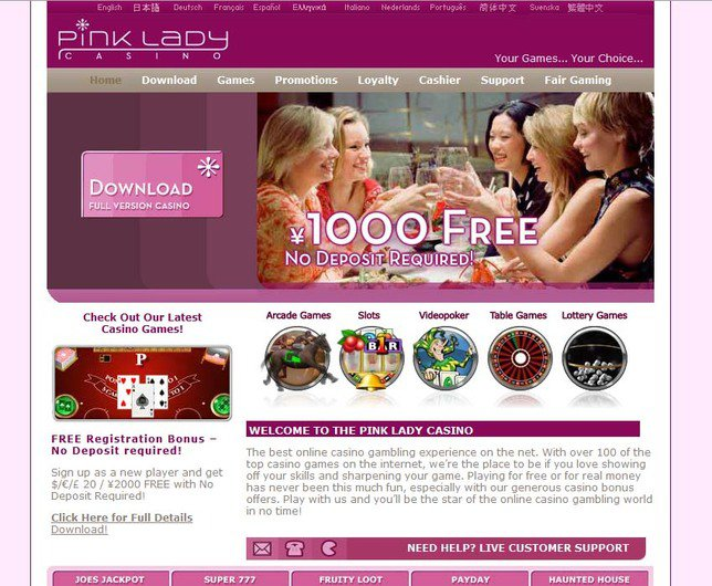 Pink Lady Casino objective review on LCB
