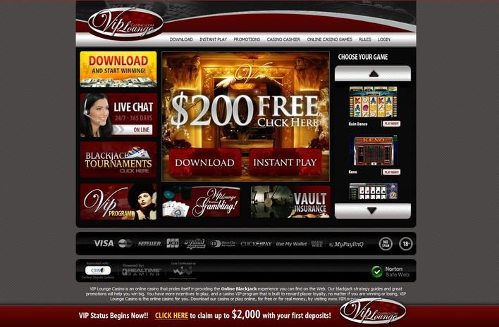 VIP Lounge Casino objective review on LCB