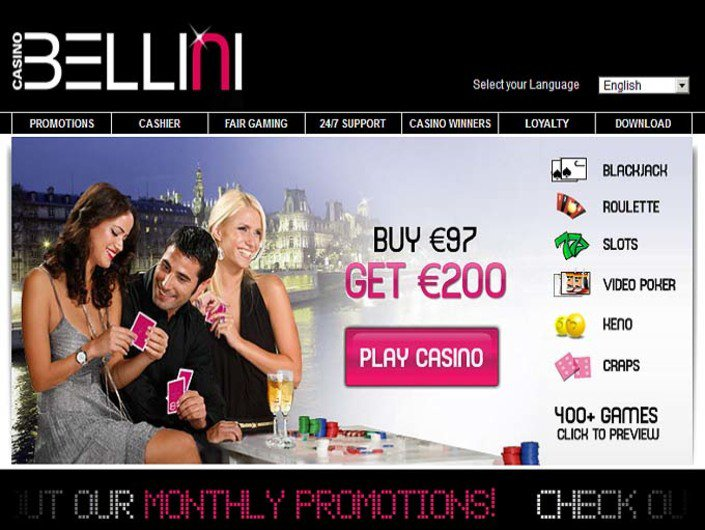 Casino Bellini objective review on LCB