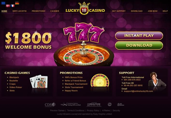 Lucky 18 Casino objective review on LCB