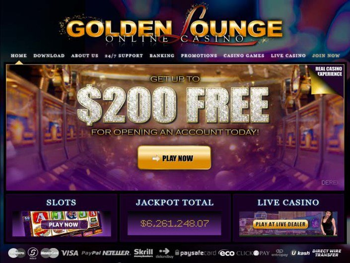 Golden Lounge Casino objective review on LCB