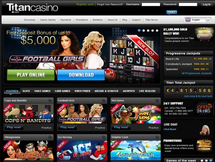 Titan Casino objective review on LCB