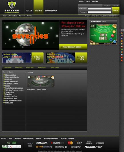 Stryyke Casino