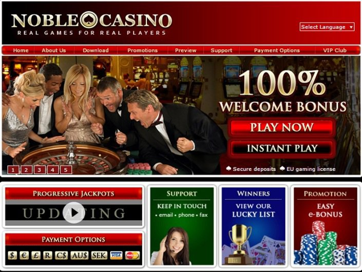 Noble Casino objective review on LCB