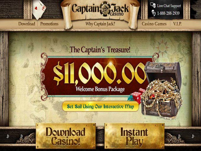 Captain Jack Casino objective review on LCB