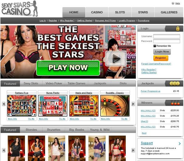 Sexy Stars Casino objective review on LCB