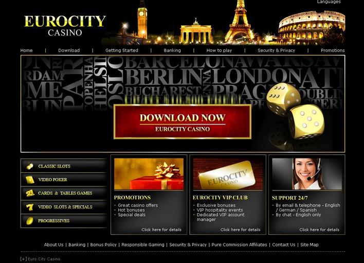 Euro City Casino objective review on LCB