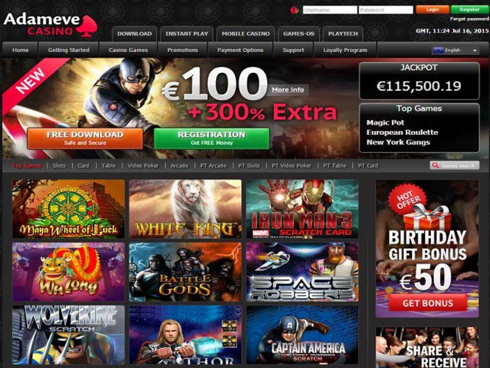 AdamEve Casino objective review on LCB
