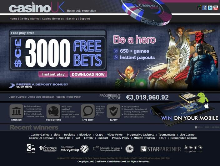 Casino UK objective review on LCB