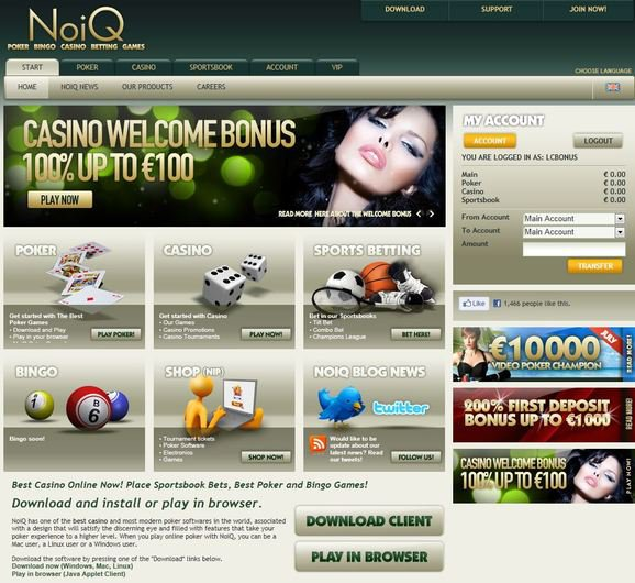 NoiQ Casino objective review on LCB