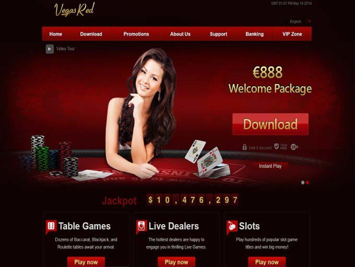 Vegas Red Casino objective review on LCB