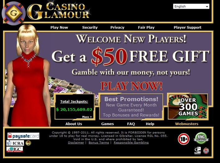 Casino Glamour objective review on LCB
