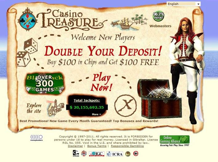 Casino Treasure objective review on LCB