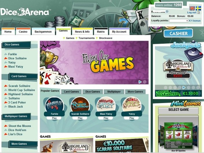 DiceArena Casino