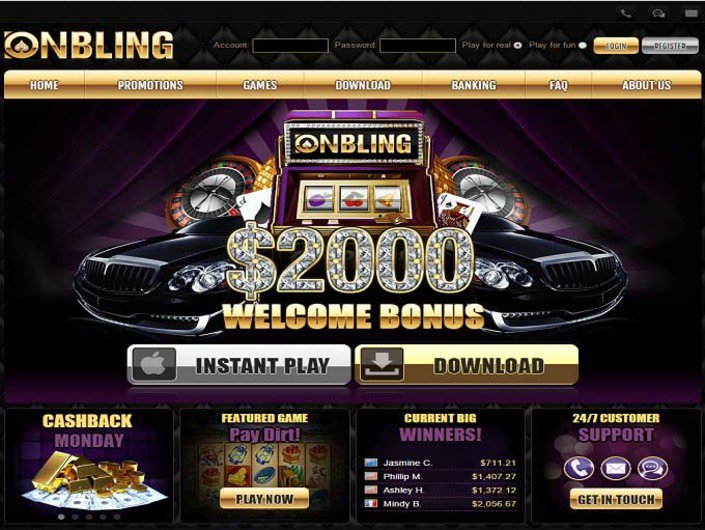 Onbling Casino objective review on LCB
