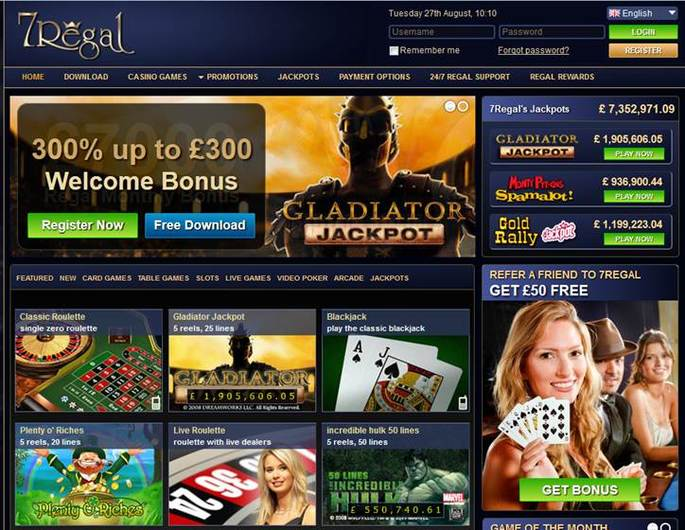 7Regal Casino objective review on LCB