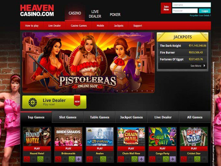 Heaven Casino objective review on LCB