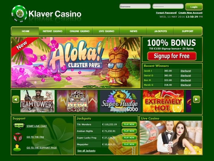 Klaver Casino objective review on LCB