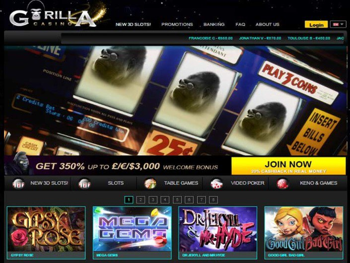 Gorilla Casino objective review on LCB