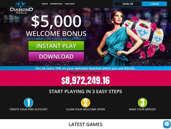 Diamond Reels Casino objective review on LCB