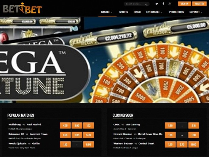 BETiBET Casino objective review on LCB