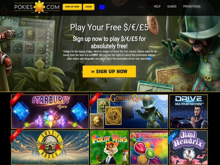 Pokies.com objective review on LCB