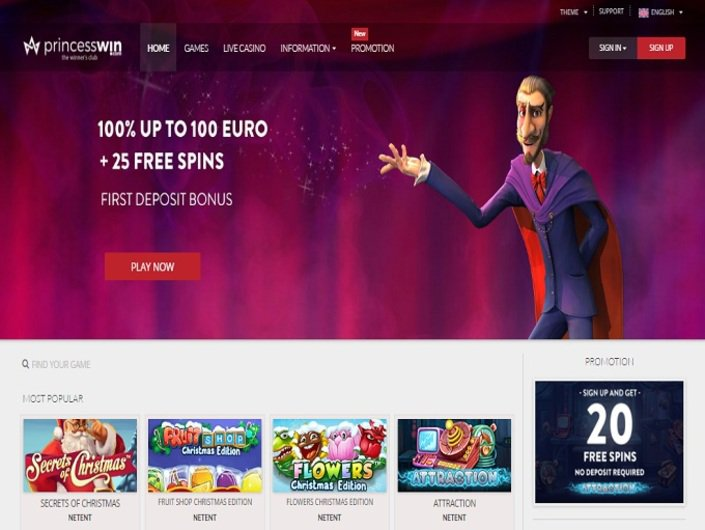 Princess Win Casino objective review on LCB