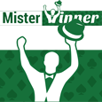 Mister winner logo