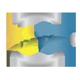 1x2plus logo