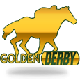Golden derby logo on white