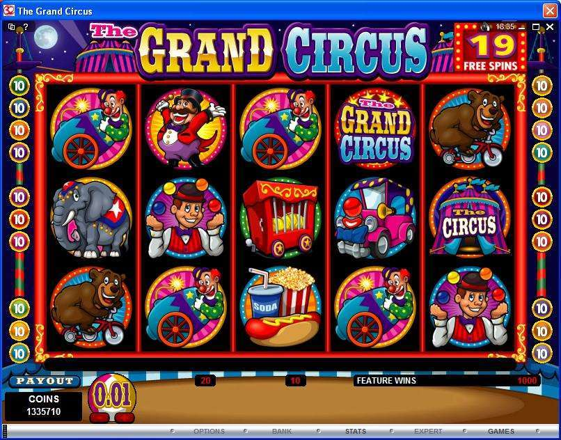 Game Review The Grand Circus