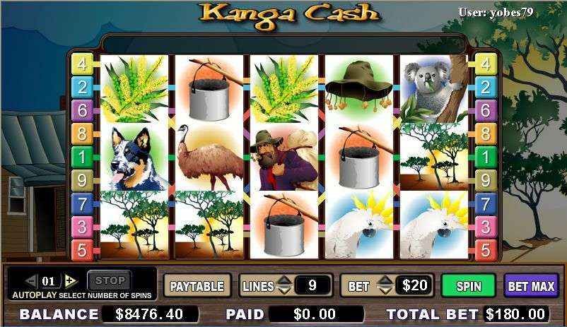 Game Review Kanga Cash