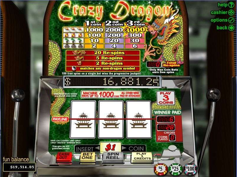 Game Review Crazy Dragon