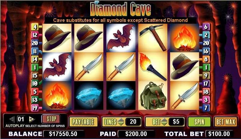 Game Review Diamond Cave