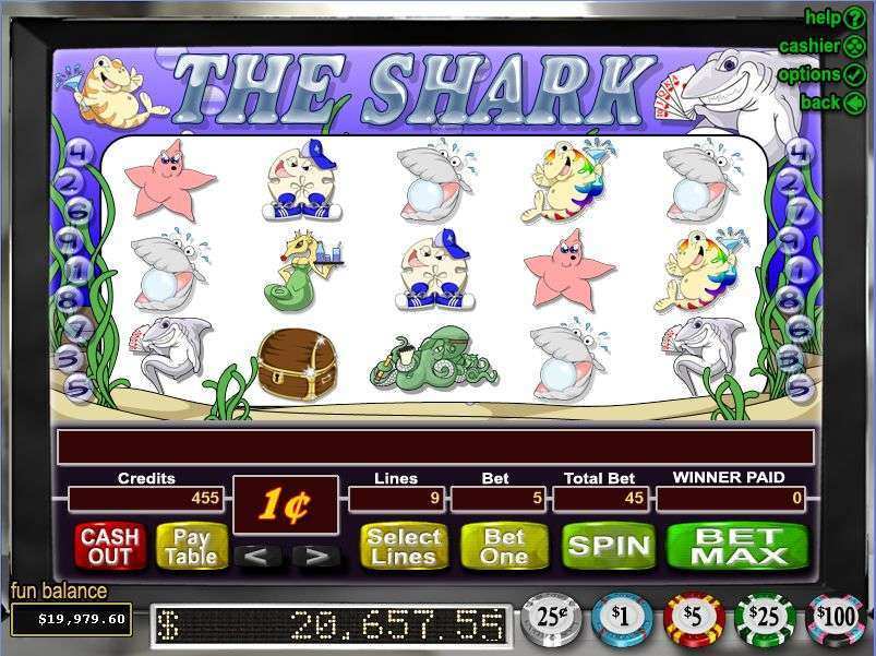 Game Review The Shark