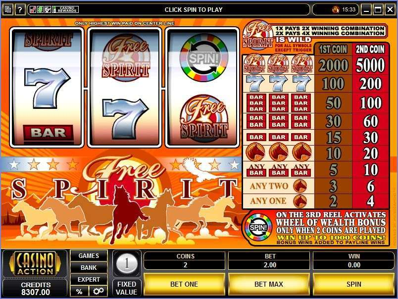 Game Review Free Spirit Wheel of Wealth