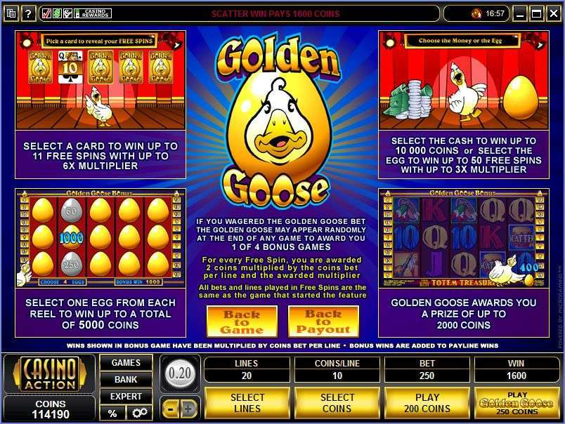 Game Review Golden Goose - Totem Treasure