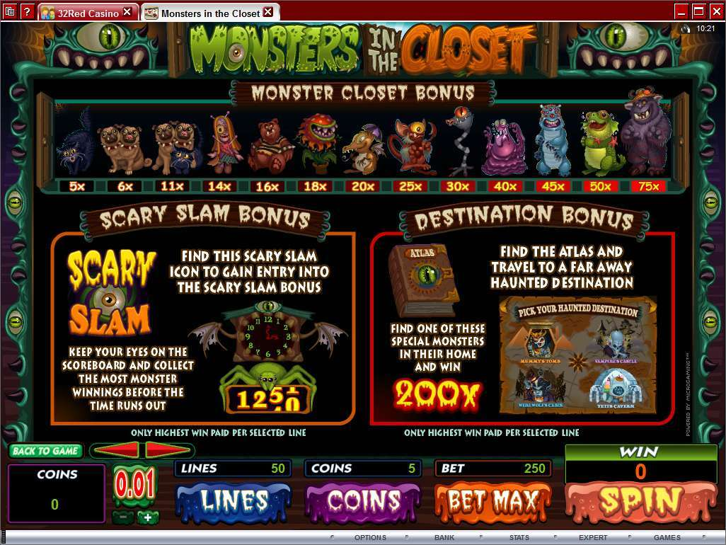 Game Review Monsters in the Closet