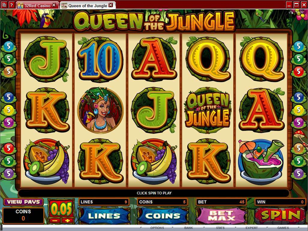 Game Review Queen of the Jungle