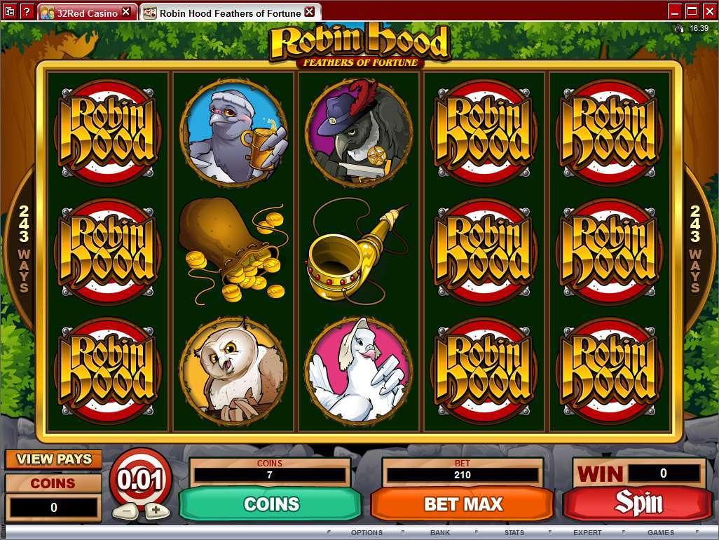 Robin hood casino game teen gambling facts