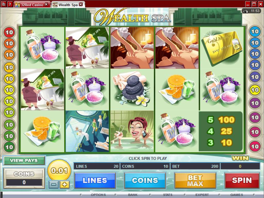 Game Review Wealth Spa