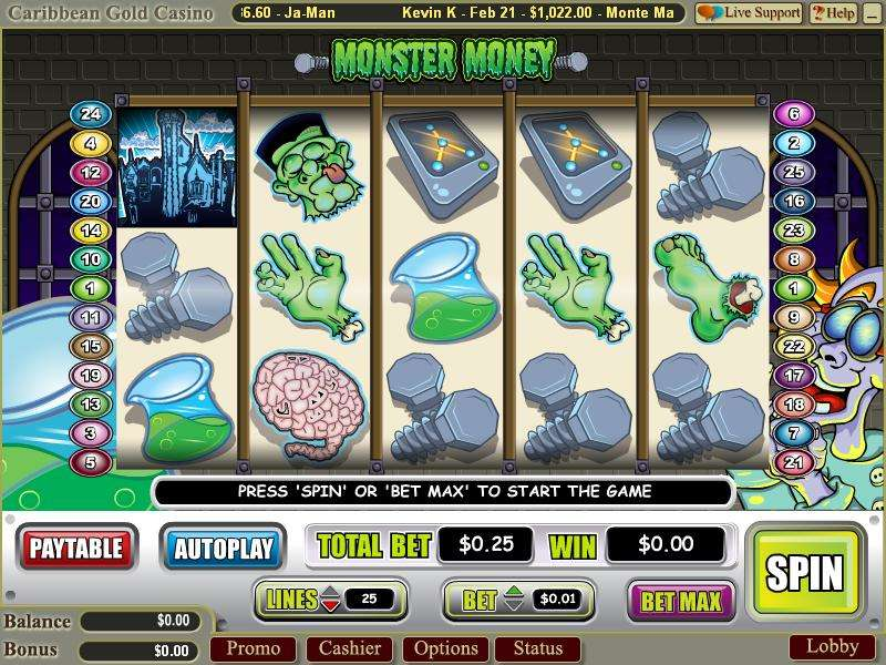 Game Review Monster Money