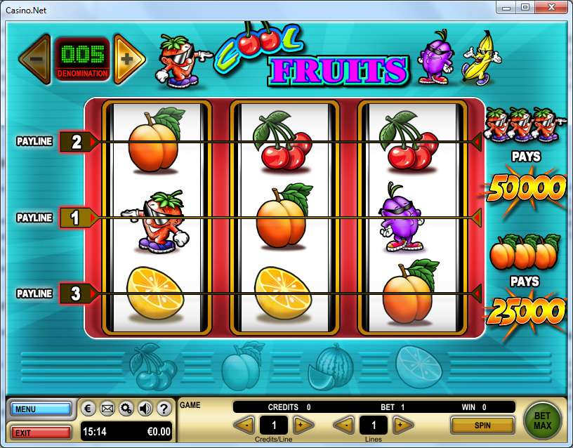 Game Review Cool Fruits