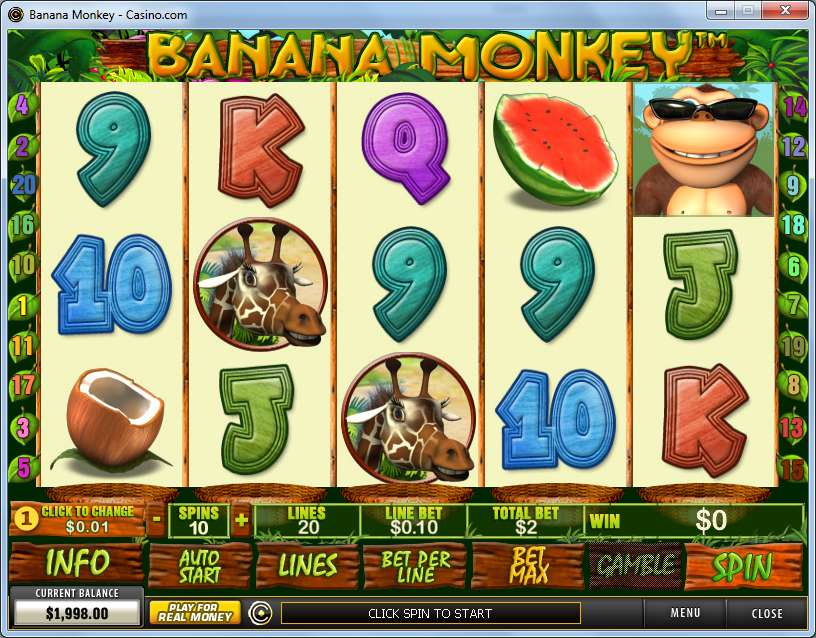 Game Review Banana Monkey