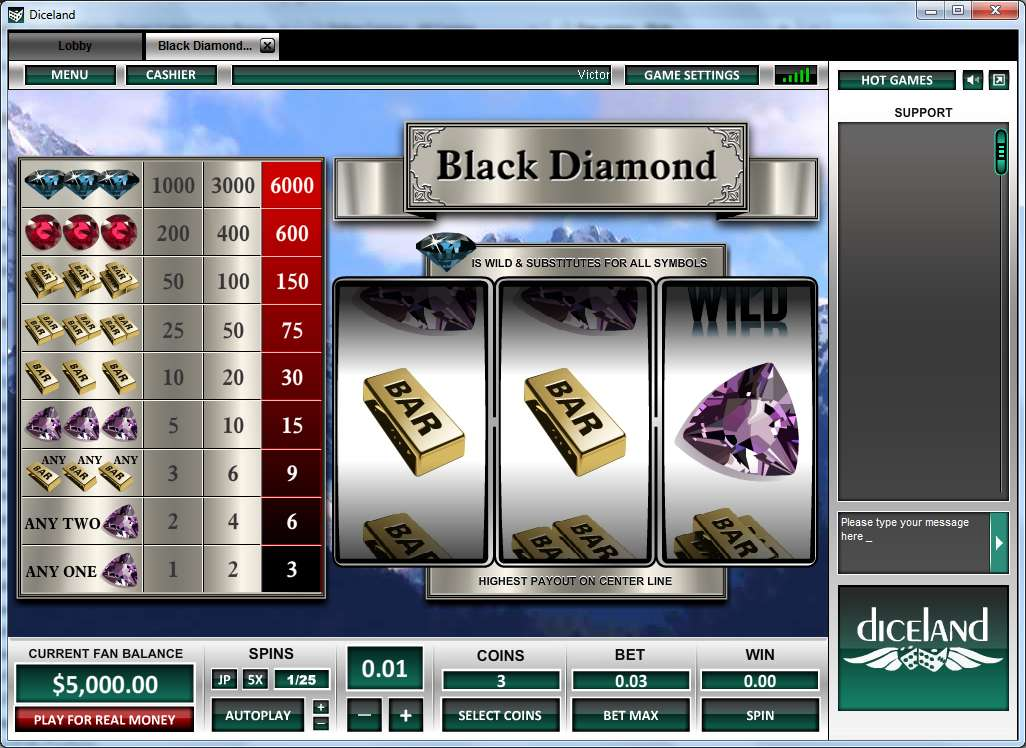 Game Review Black Diamond 1 Line