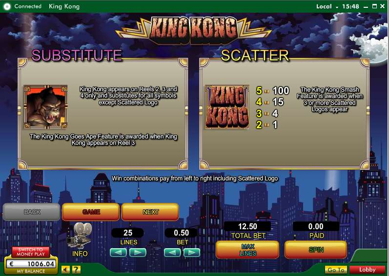 Game Review King Kong